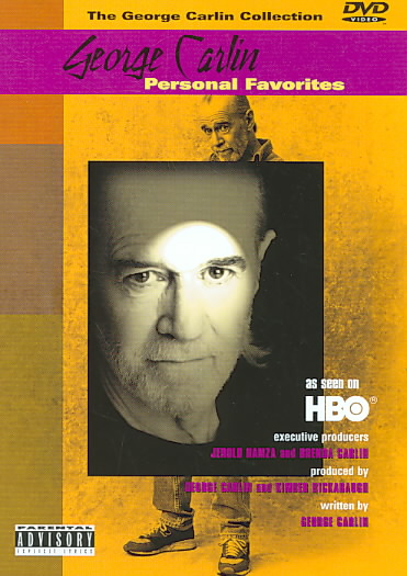 GEORGE CARLIN:PERSONAL FAVORITES BY CARLIN,GEORGE (DVD)